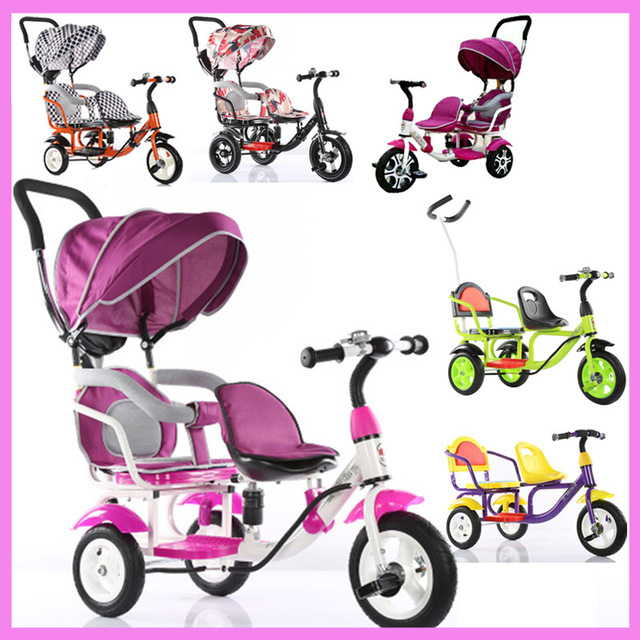 Tricycle clipart baby bike. Children double bicycle twins