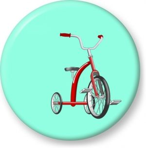 tricycle clipart red tricycle