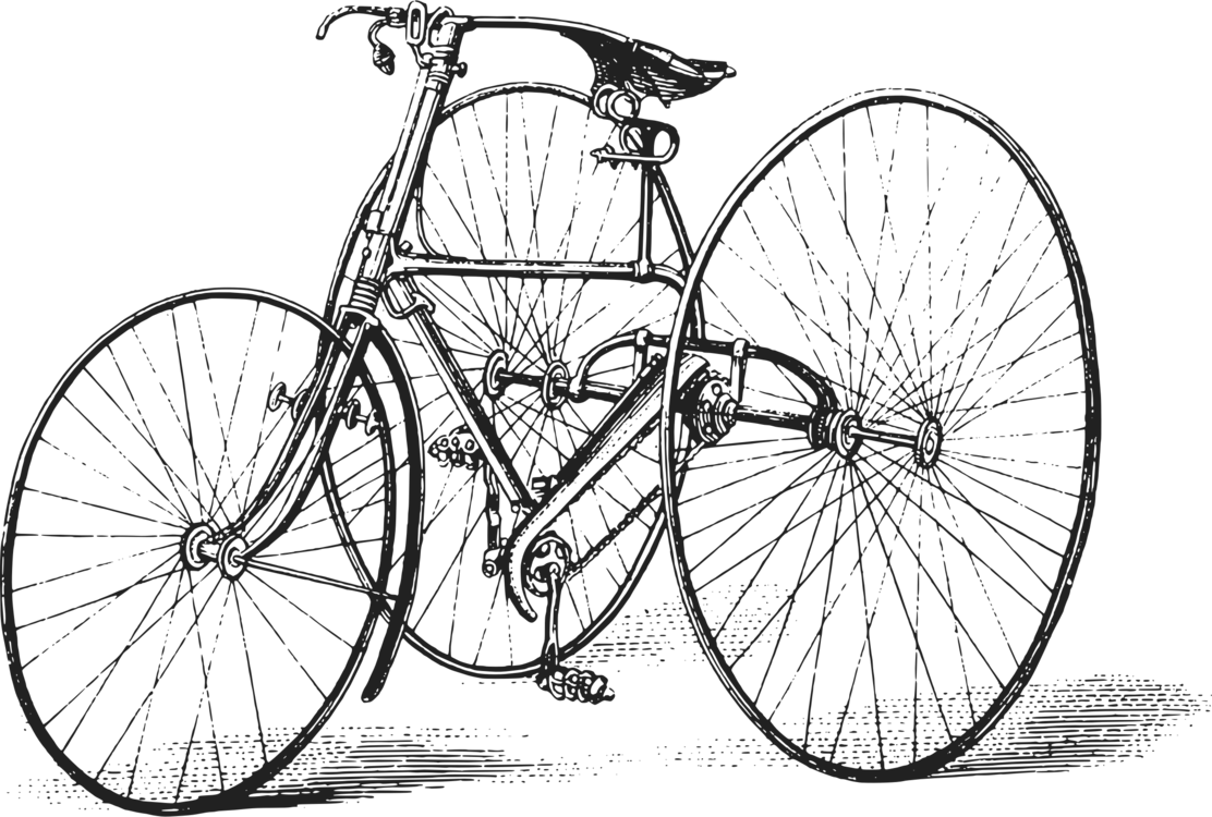 Bicycle clip art transportation. Tricycle clipart picture download