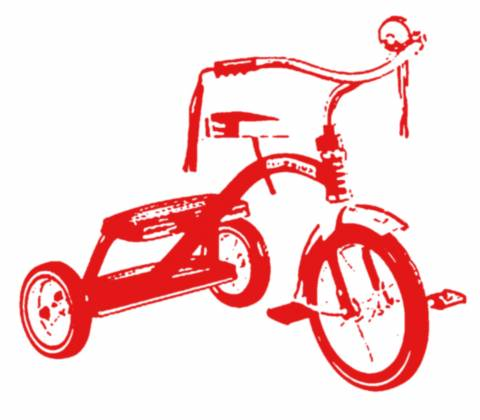 Tricycle clipart tricycle race. Games giant bomb