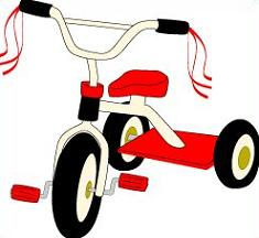 Tricycle clipart. Free
