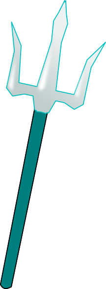 trident clipart