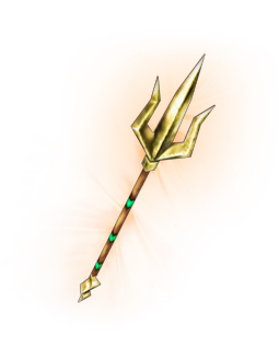Trident clipart. Gold for free download