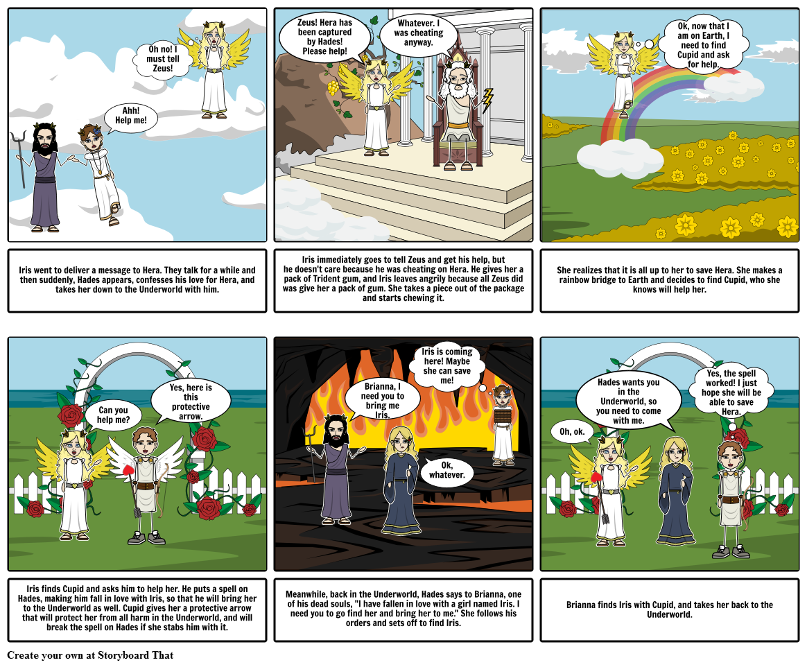 Trident clipart hades. Iris s quest storyboard