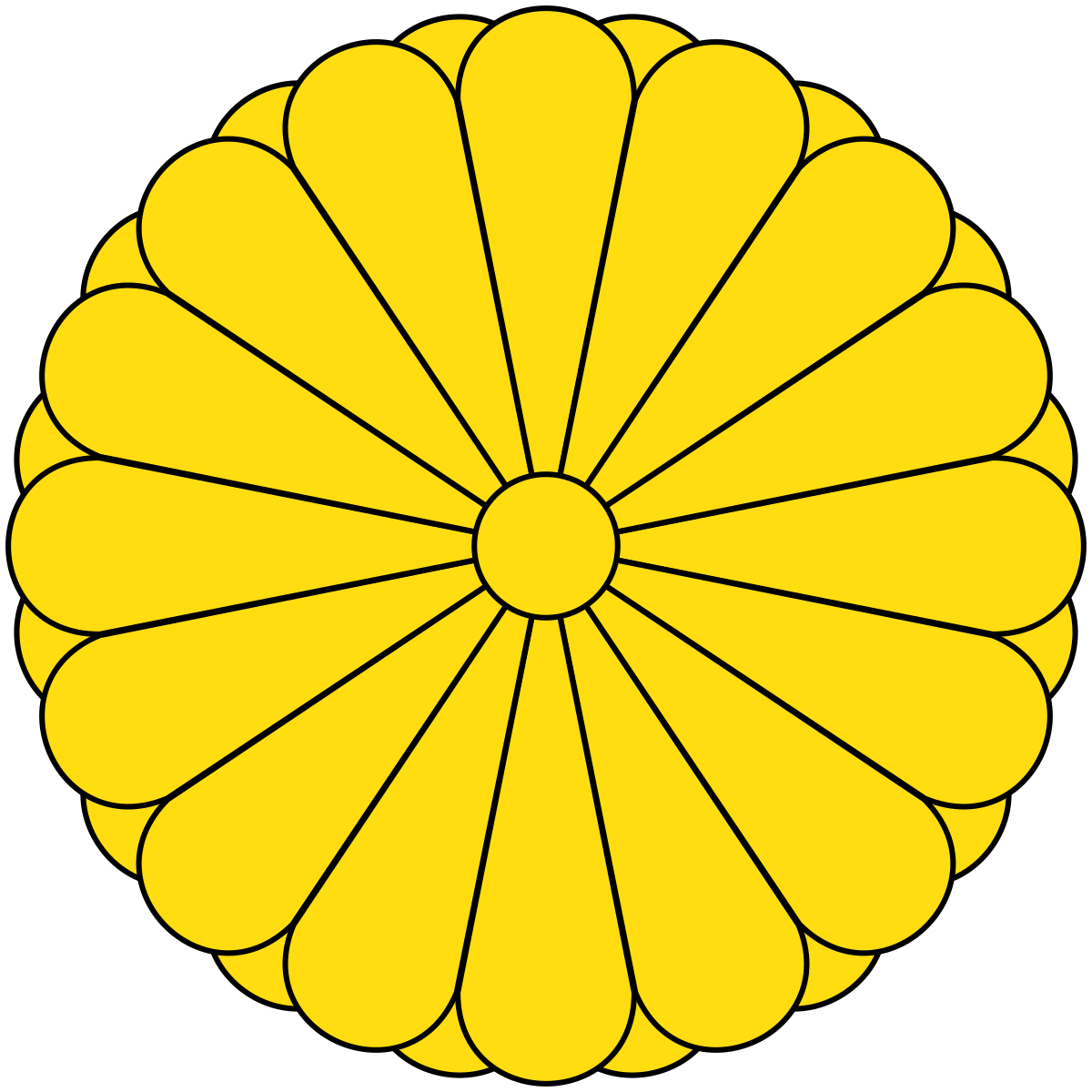 Medallion vector gold stamp. Consulate general of japan
