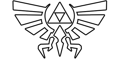 triforce drawing