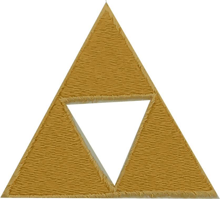 Triforce drawing triangle. Patch lavender creations youre