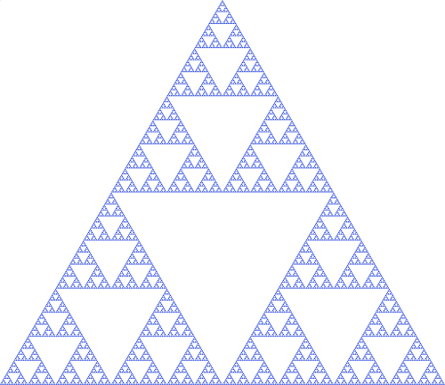 Triforce drawing realistic. Zelda the and sierpinski