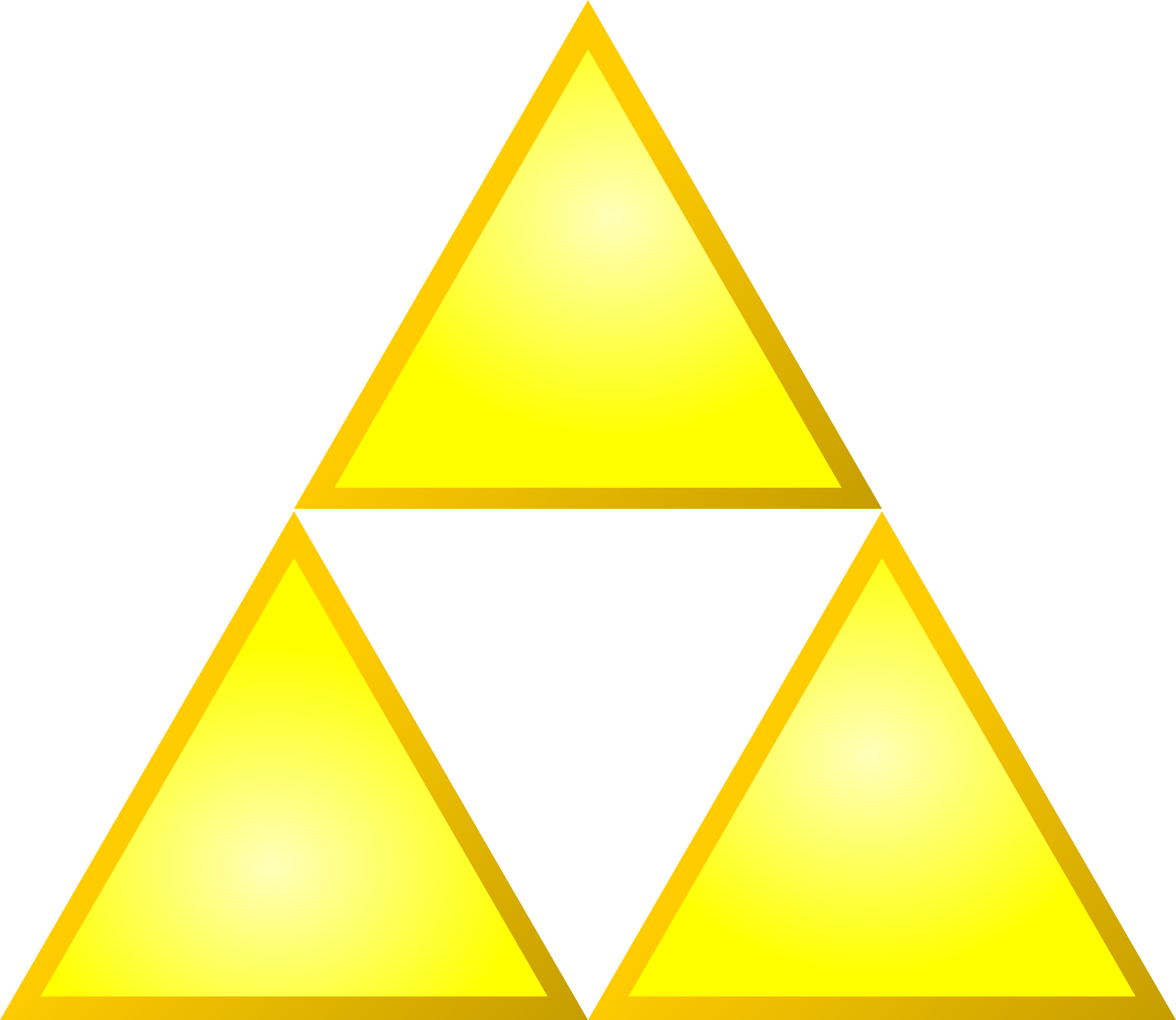 Triforce logo png. File svg wikimedia commons