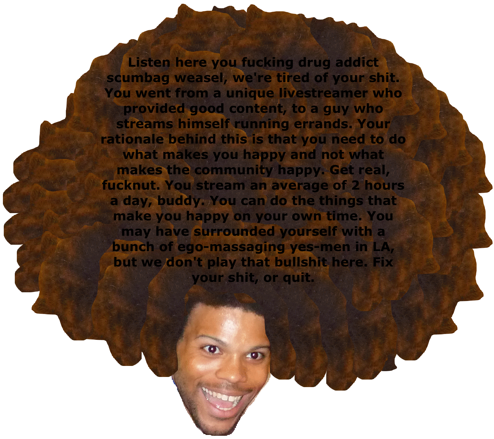 Trihard emote png. Guys lets stop the
