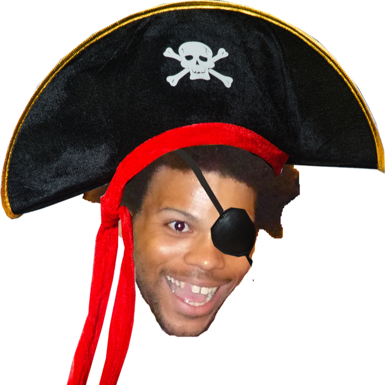 Pirate know your meme. Trihard png vector transparent download