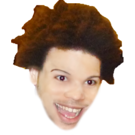 Timspinkdilduh on twitter i. Trihard png vector black and white library