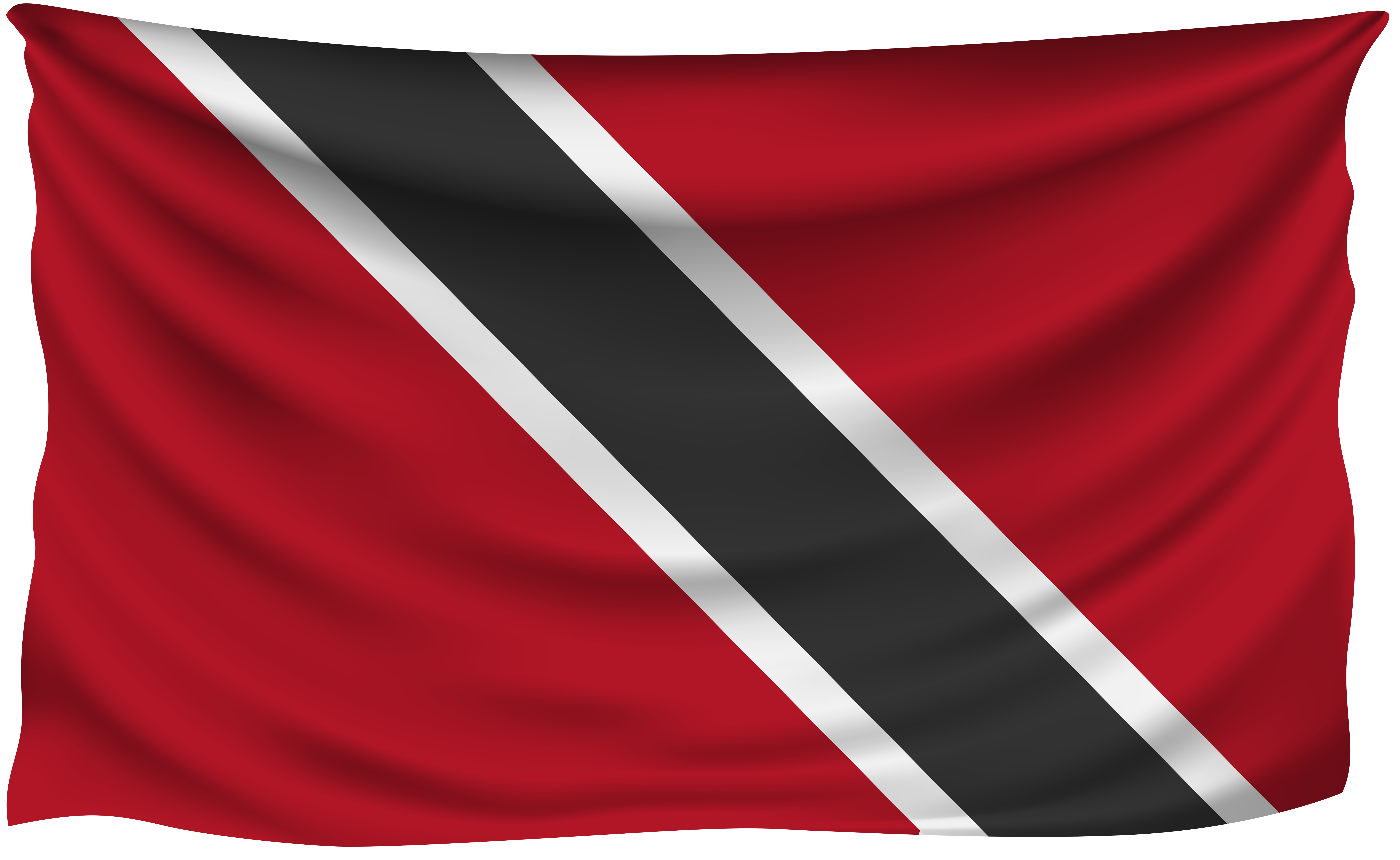 Trinidad flag png. And tobago wrinkled gallery