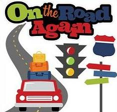 Trip clipart. Free road