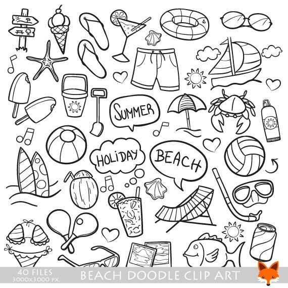 best stamps images. Trip clipart beach holiday image free