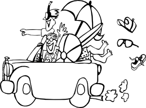 Clip art at clker. Trip clipart beach holiday clip download