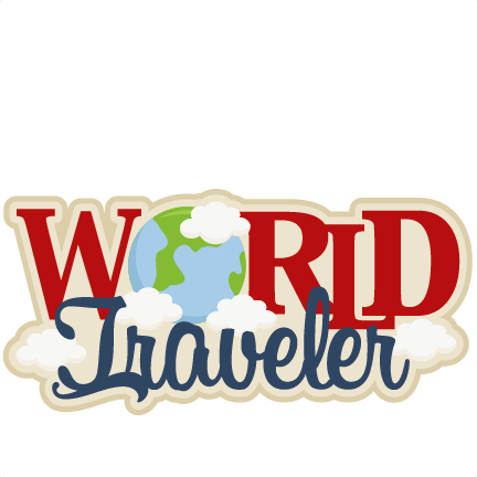 Traveler vector world. Free cliparts download clip