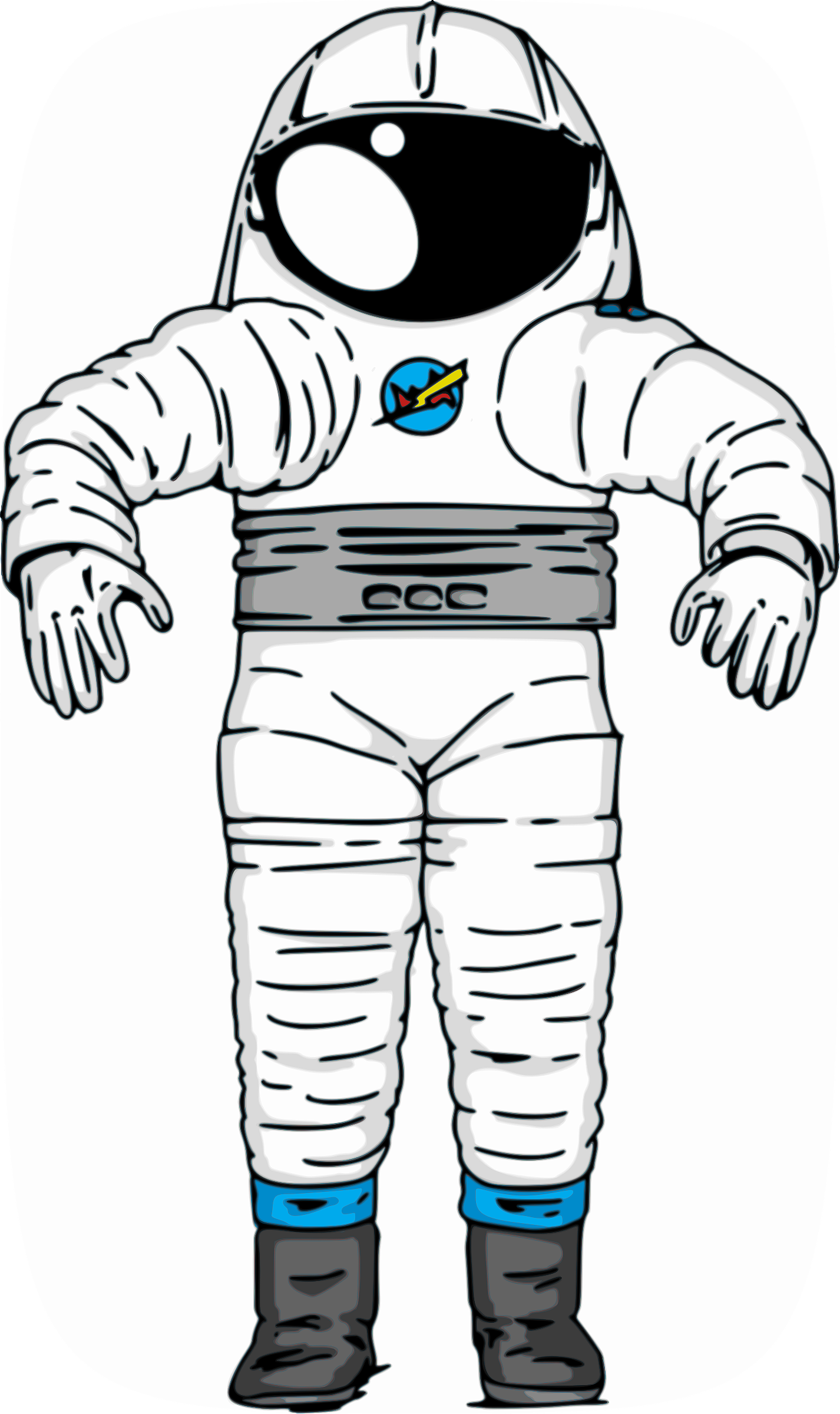 Trippy astronaut png. Collection of space
