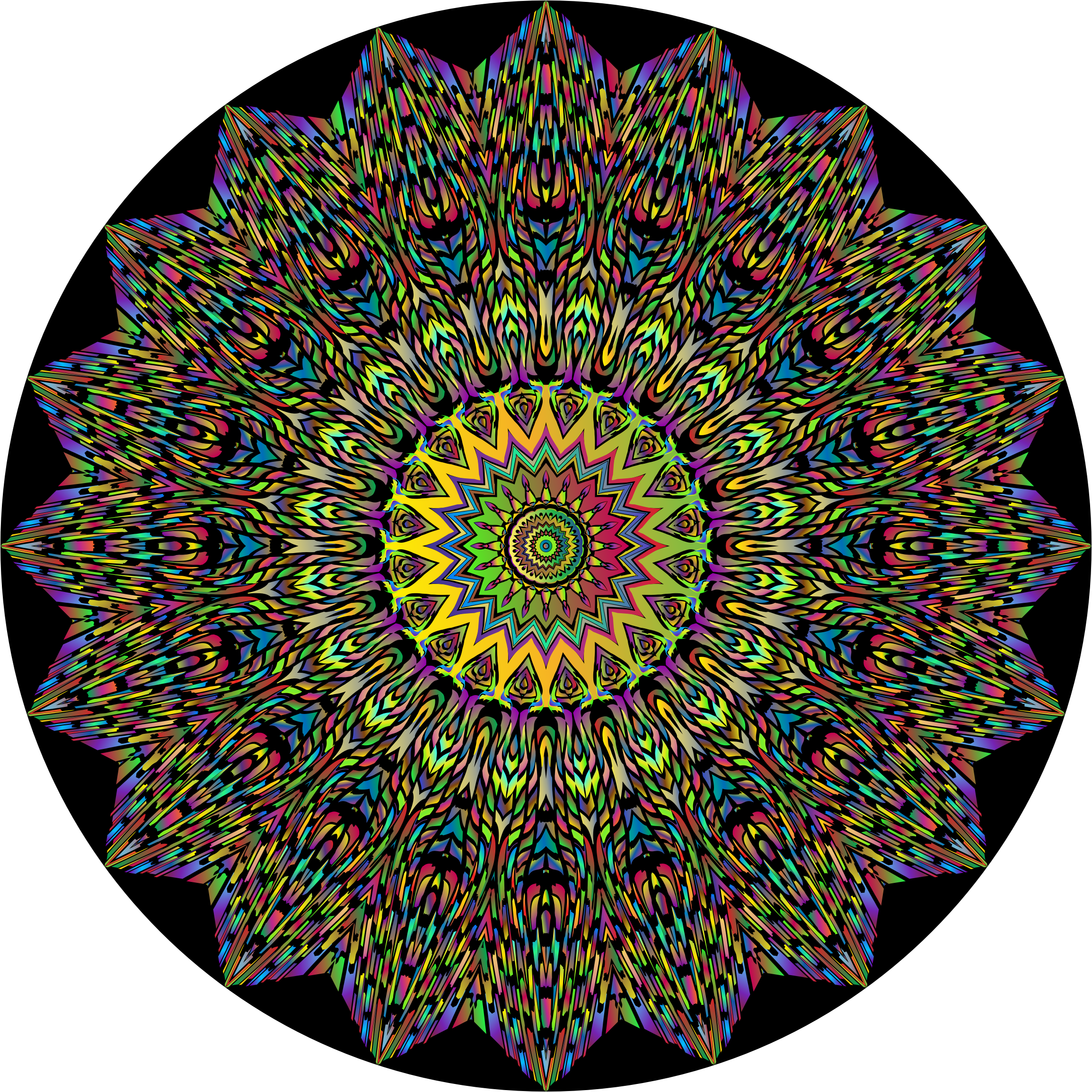Trippy backgrounds png. Psychedelic mandala icons free