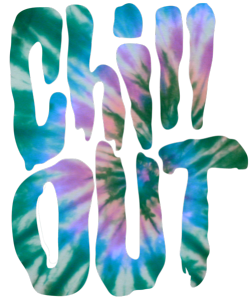 Trippy transparent cool background. Typography grunge epic chill