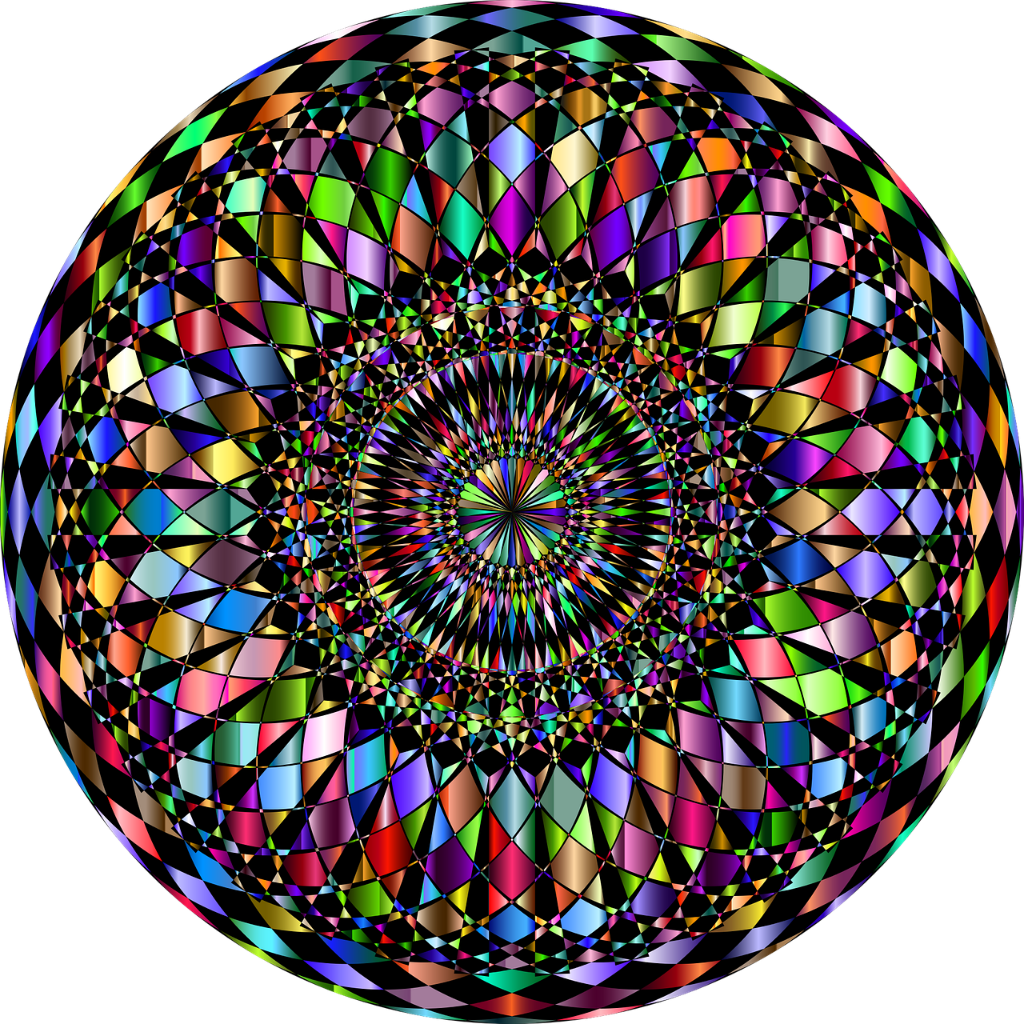 Trippy transparent circle. Freetoedit sticker by nay
