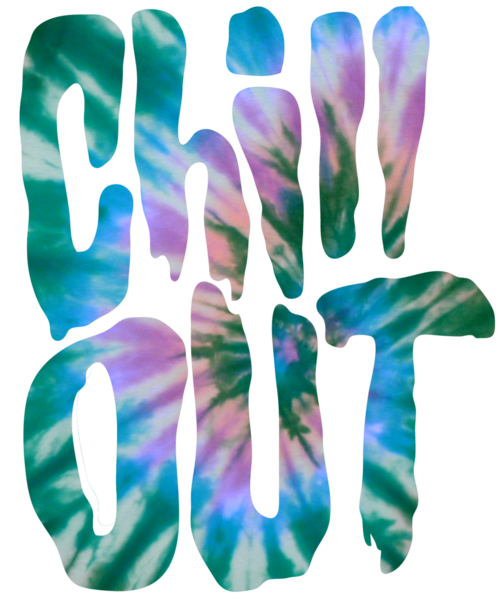 Cool typography epic chill. Trippy transparent grunge vector download
