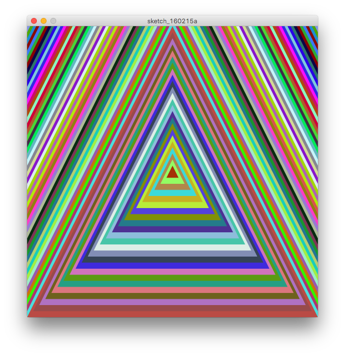 Trippy transparent triangle. Triangles game programming im