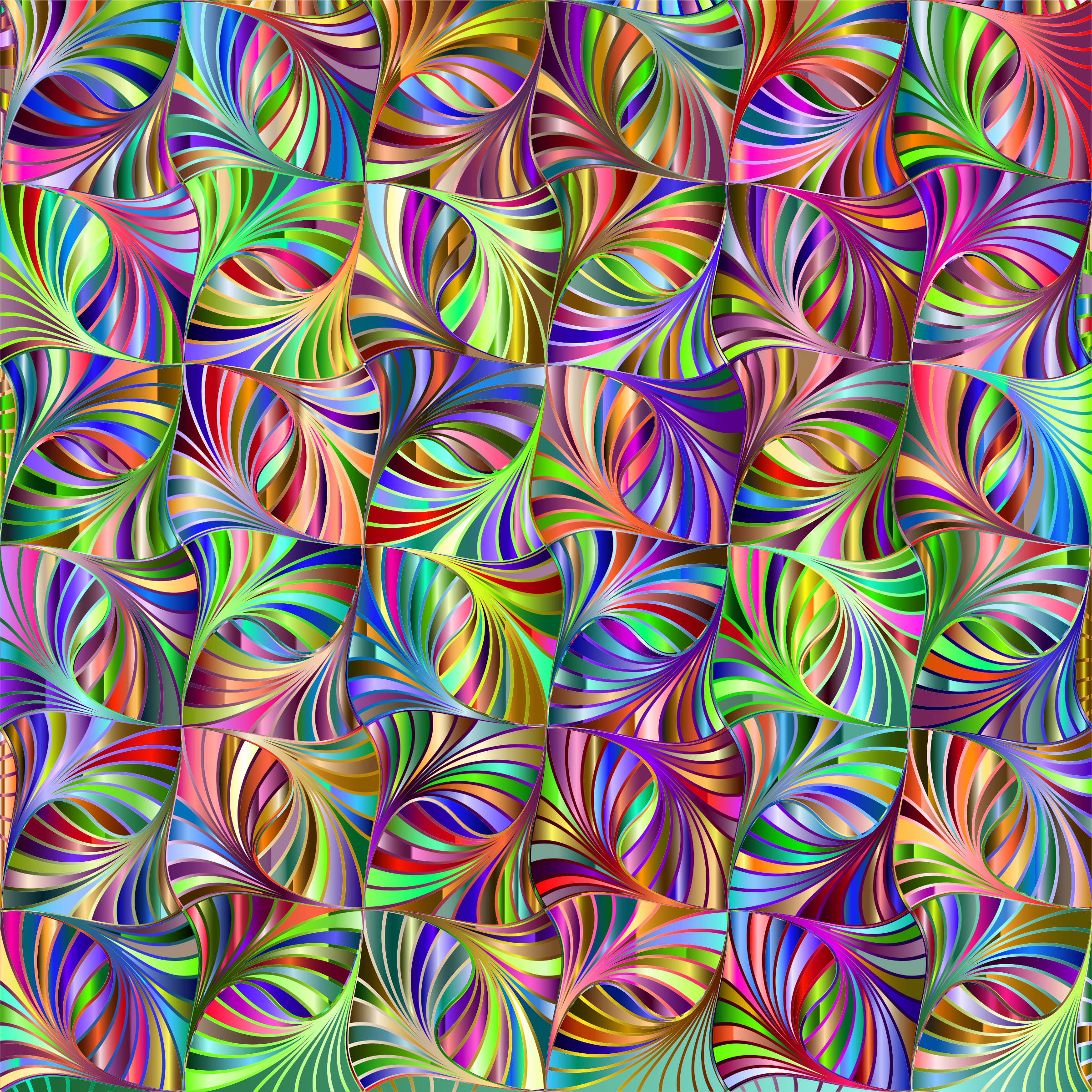 Trippy vector abstract geometric pattern. Prismatic background icons png