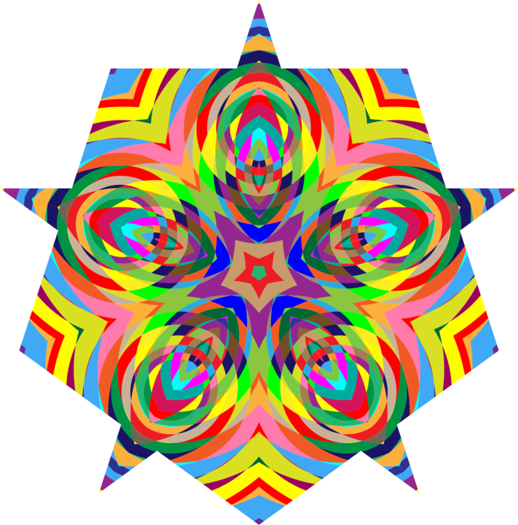 Trippy vector background. Psychedelia computer icons psychedelic