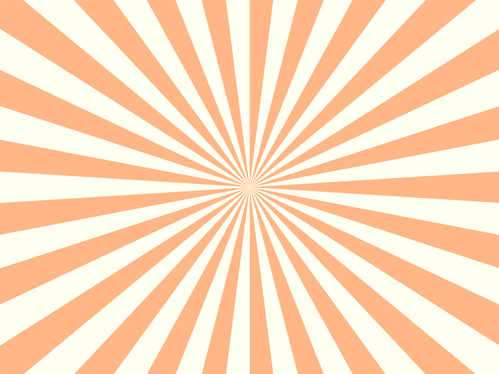 Trippy vector background. Orange stripes by spooky