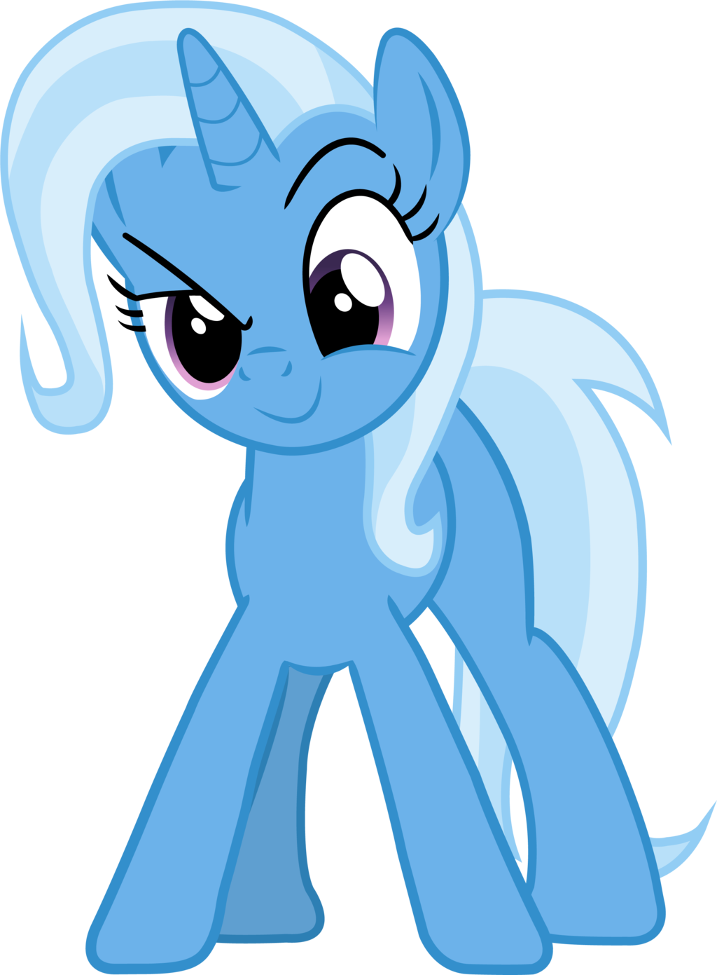 Trixie vector art mlp. By causenpc the great