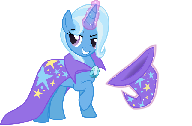 Trixie vector art mlp. Equestria daily stuff s