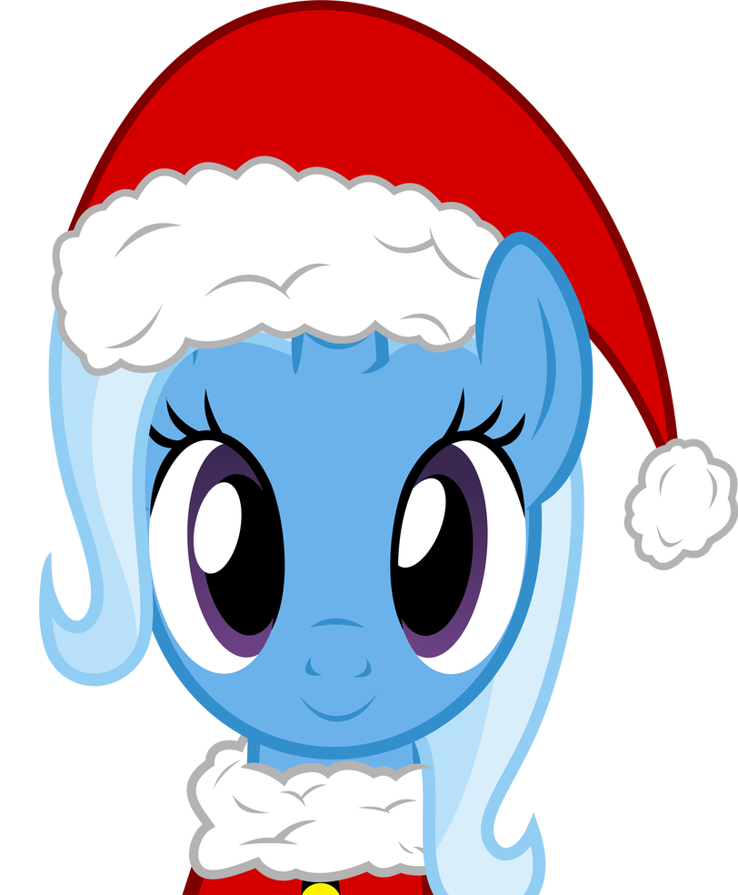 Trixie vector christmas. By pink ejack on
