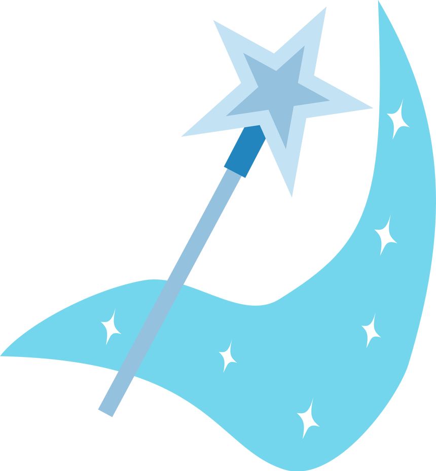Trixie vector cutie mark. By the smiling pony
