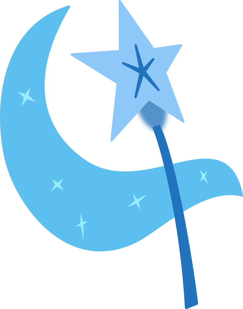 Trixie vector cutie mark. By blackgryph n on