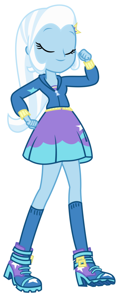 Trixie vector equestria girls. Artist sketchmcreations clothes