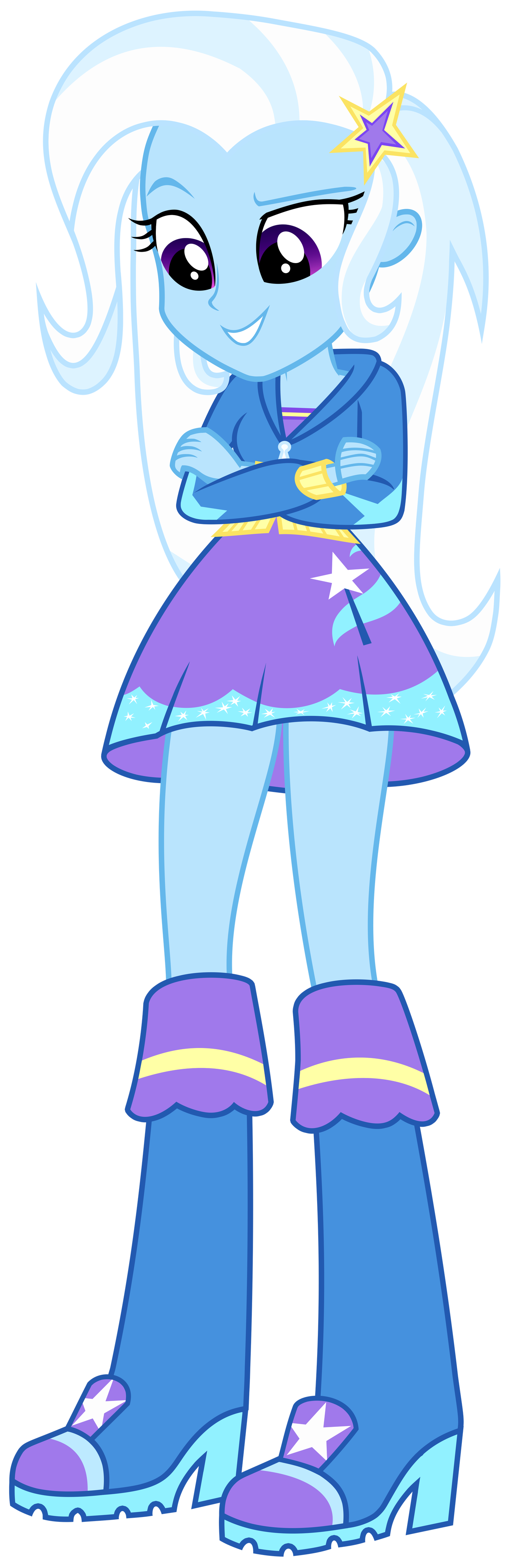 Eg by greenmachine on. Trixie vector eqg graphic