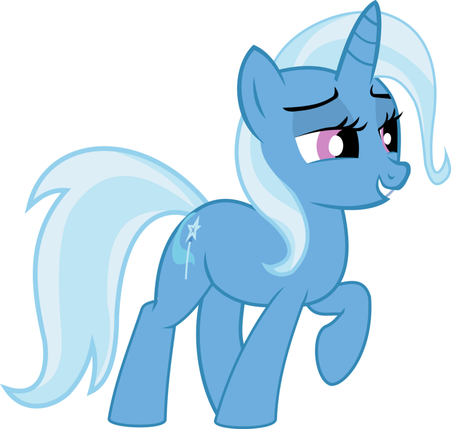 trixie vector front