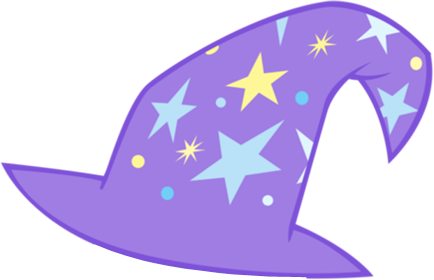 Trixie vector hat. S by rarity on