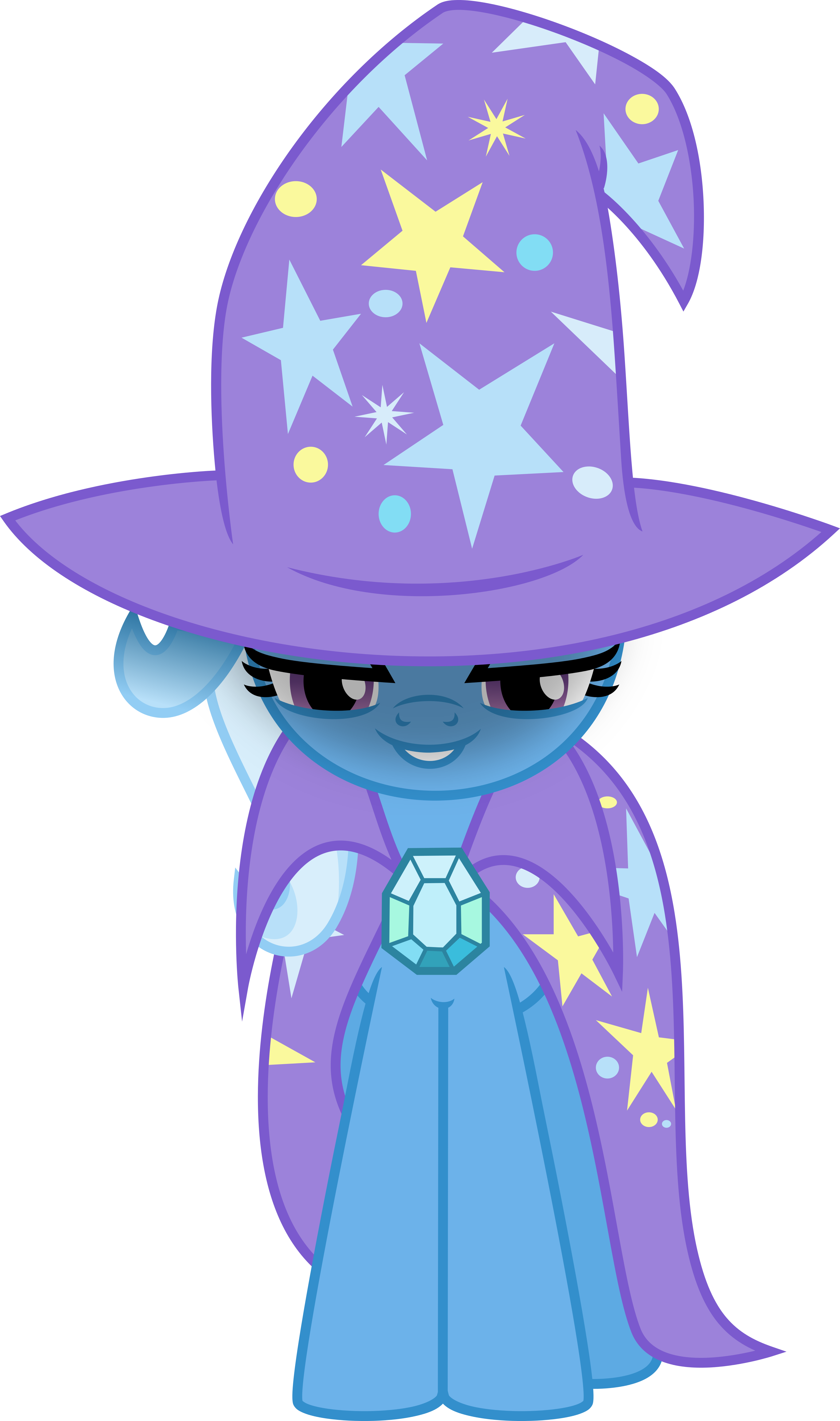 Trixie vector princess. Hello by osipush on