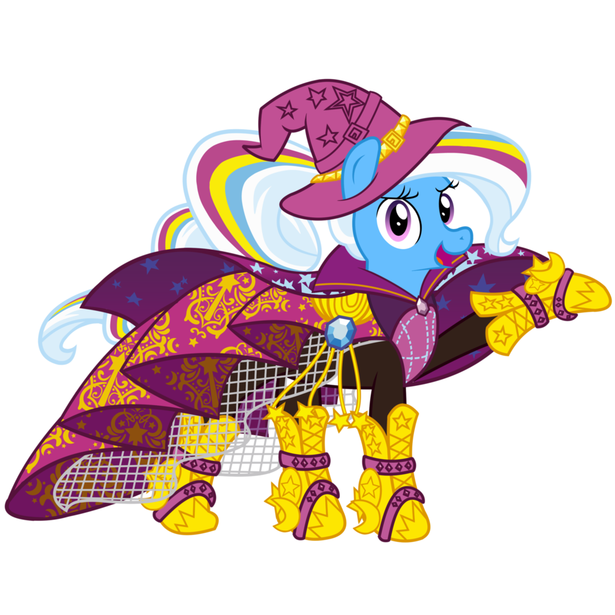 Trixie vector rainbow rocks. By whatchyagonnado on deviantart