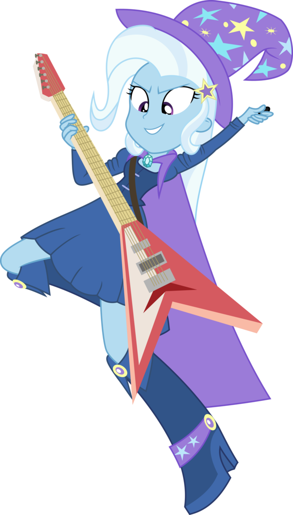 Trixie vector rainbow rocks. Absurd res artist