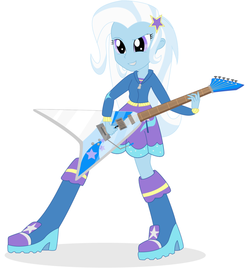 Trixie vector rainbow rocks. Lulamoon by algoorthviking on