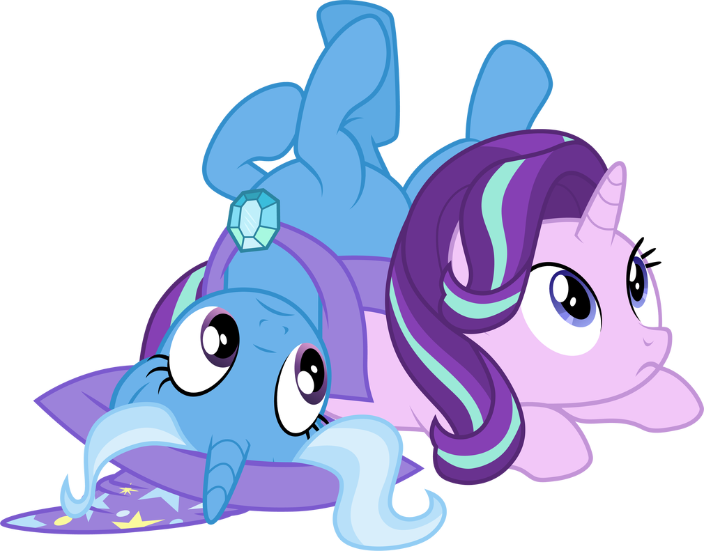 Trixie vector starlight glimmer. And by cloudyglow on