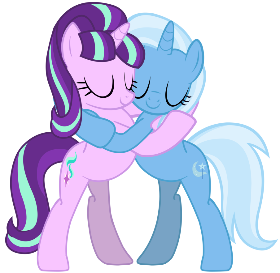 Trixie vector starlight glimmer. Mlp shipping and by