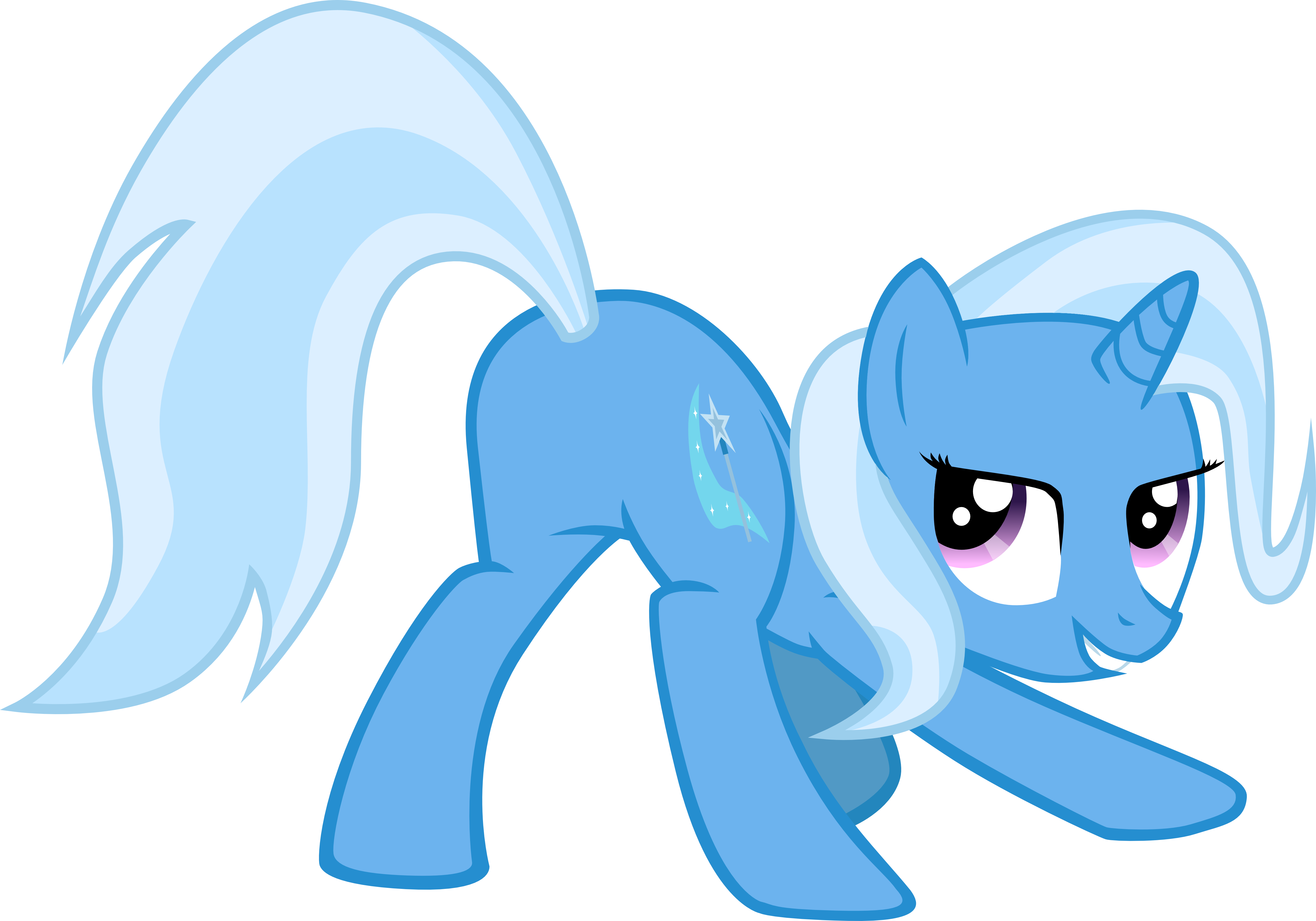 Trixie vector tap. Mlp fim the great