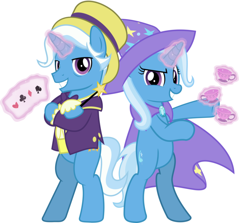 Trixie vector the great and powerful. Mlp jackpot by jhayarr