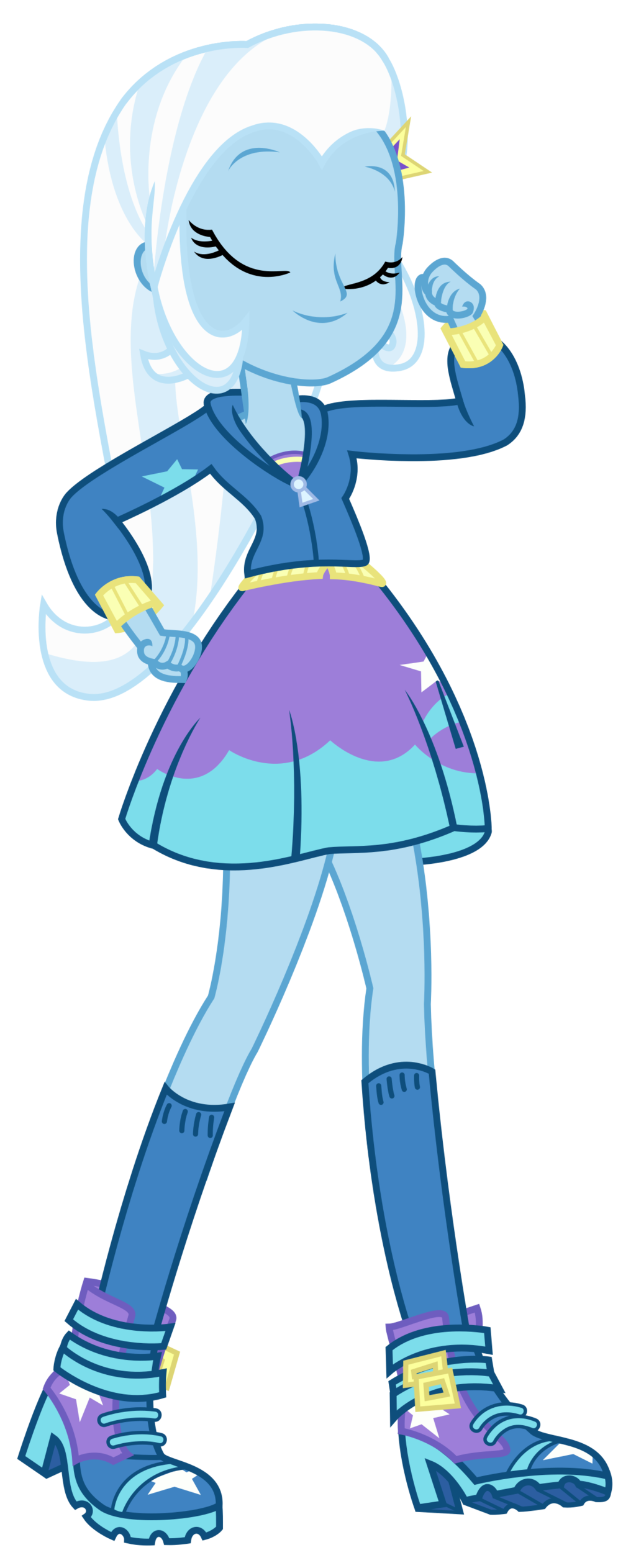 Trixie vector equestria girls. As great and powerful