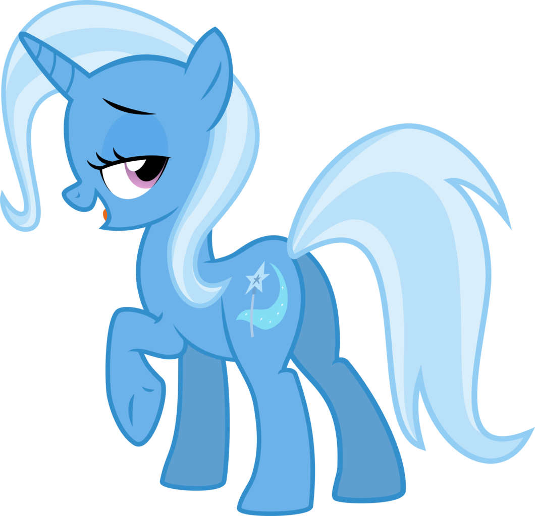 Trixie vector unicorn. Artist the smiling