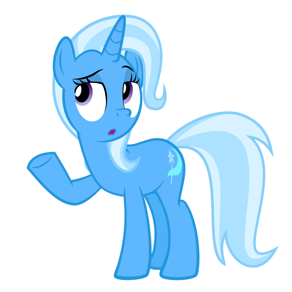 Trixie vector transparent. Artist the smiling